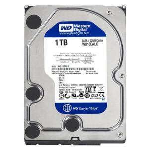 Ổ cứng HDD Western 1TB Blue Chính Hãng (WD10EZEX)