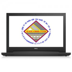 Laptop Dell 3558 core i3-4005/ RAM 4gb/ SSD 120gb