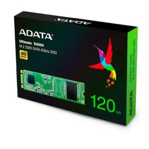 Ổ cứng SSD 120G Adata SU650 M.2 2280 Sata III 6Gb/s (ASU650NS38-120GT-C)